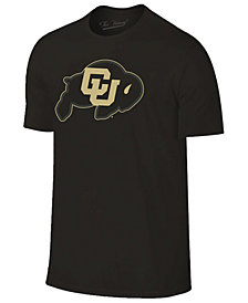 Champion Men's Colorado Buffaloes Black Out Dual Blend T-Shirt