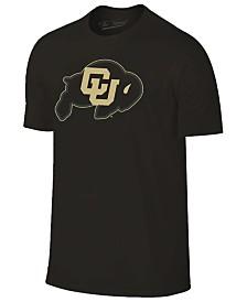 Champion Men's Colorado Buffaloes Black Out Dual Blend T-Shirt