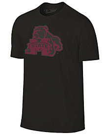Champion Men's Mississippi State Bulldogs Black Out Dual Blend T-Shirt