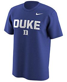 Nike Men's Duke Blue Devils Legend Logo Lockup T-Shirt