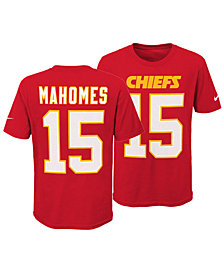 Nike Pat Mahomes Kansas City Chiefs Pride Name and Number 3.0 T-Shirt, Big Boys (8-20)