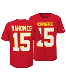 Nike Pat Mahomes Kansas City Chiefs Pride Name and Number 3.0 T-Shirt, Big Boys (8-20)