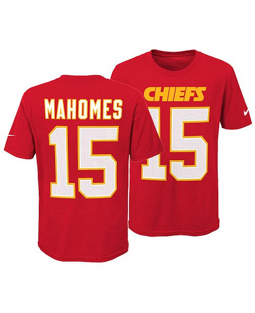 the latest c5ed0 b3d16 Pat Mahomes Kansas City Chiefs Pride Name and Number 3.0 T-Shirt, Big Boys  (8-20)