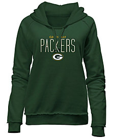 5th & Ocean Women's Green Bay Packers Fleece Pullover Hoodie