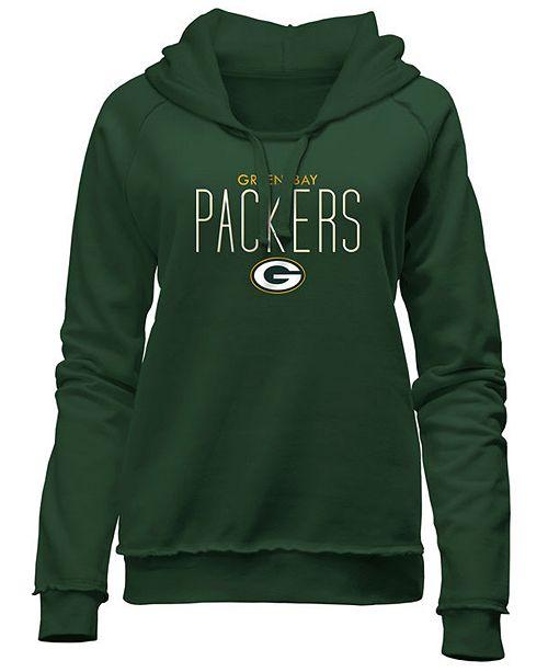 dee4728c Women's Green Bay Packers Fleece Pullover Hoodie
