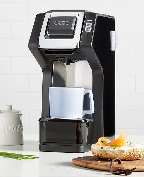 Hamilton Beach Flexbrew Single Serve Plus Coffee Maker Reviews