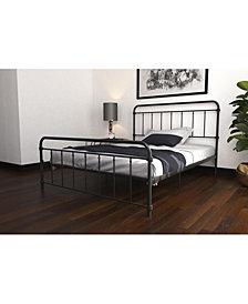 EveryRoom Wyn Queen Metal Bed