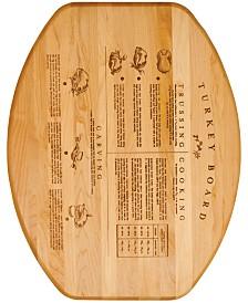 Catskill Craft Branded Turkey Board With Wedge