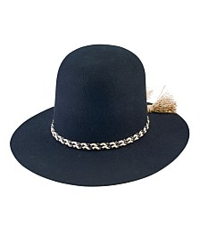 San Diego Hat Company Open Crown Derby Wide Brim Hat