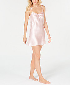 Thalia Sodi Lace-Panel Chemise, Created for Macy's