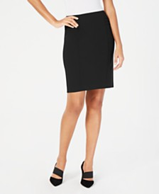 Alfani Pintucked Pencil Skirt, Created for Macy's