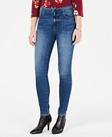 GUESS High-Rise Skinny Jeans