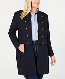 Tommy Hilfiger Plus Size Band Topper Jacket, Created for Macy's