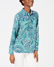 Tommy Hilfiger Printed Shirt, Created for Macy's