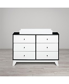 Rowan Valley Flint 6-Drawer Changing Table