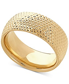 Textured Band in 10k Gold