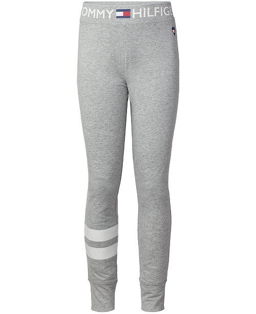 fc52a6f3981ca Tommy Hilfiger Big Girls Stripe Sweatpants & Reviews - Leggings ...