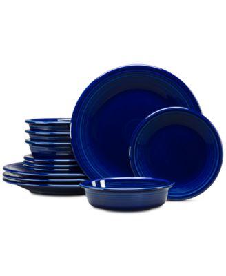 Cobalt 12-Pc. Classic Dinnerware Set, Service for 4