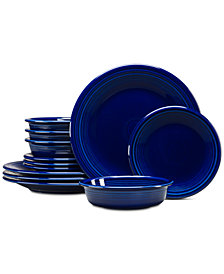 Fiesta 12-Pc. Classic Cobalt Dinnerware Set, Service for 4