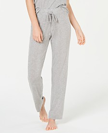 Alfani Ultra Soft Ribbed Knit Pajama Pants, Created for Macy's