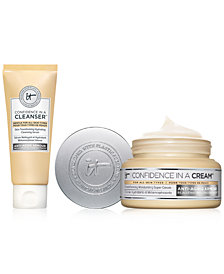 Limited Edition It Cosmetics Confidence in a Cream + Trial-Size Confidence in a Cleanser Set- Only $48.00 with any Beauty purchase! A $57 Value!