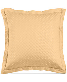 Charter Club Damask Cotton Quilted European Sham, Created for Macy's