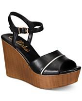 e7a90920ae2 Callisto Kimber Platform Wedge Sandals