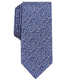 Bar III Men's Chester Skinny Floral Tie, Created for Macy's