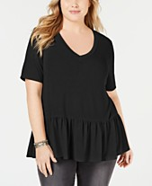 2564e429a30 Clearance Closeout Trendy Plus Size Clothing - Macy s