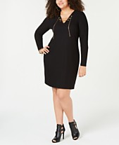 3f7e5f02135 Clearance Closeout Michael Kors Plus Size Dresses   Clothing - Macy s