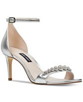 a19ffaca3f9 Nine West Allaboard Evening Sandals