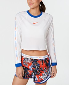 Nike Hyper Femme Cropped Running Top
