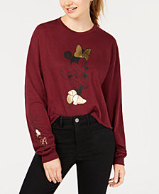 Mad Engine Juniors' Minnie Bows Sweatshirt