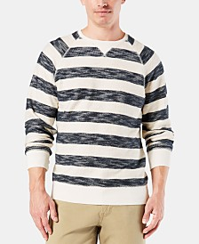 Dockers Men's Striped Raglan Sweatshirt