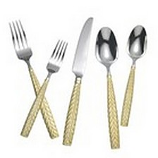 Yamazaki Feather Gold Accent - 5 Piece Place setting