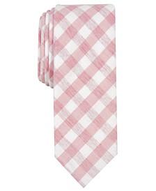 Men's Dorian Skinny Check Tie