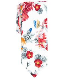 Original Penguin Men's Ebhart Skinny Floral Tie