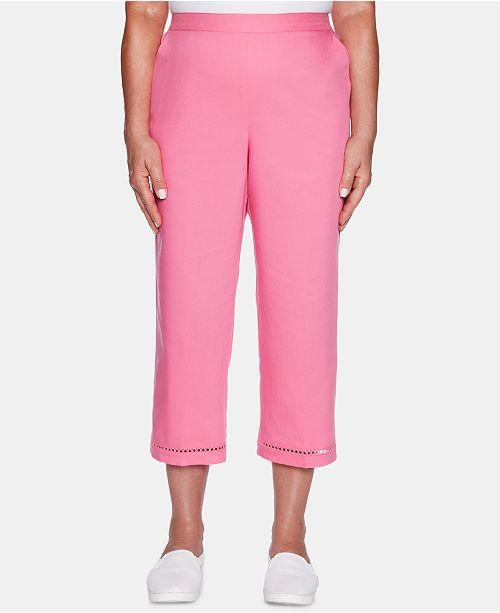 1651ccf38314e Alfred Dunner Palm Coast Pull-On Capri Pants   Reviews - Pants ...
