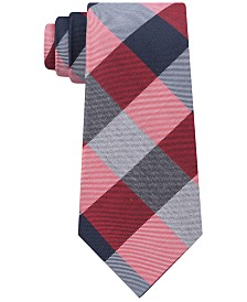 Tommy Hilfiger Men's Classic Buffalo Plaid Tie