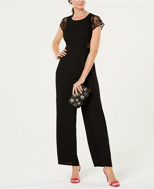 19 Cooper Lace Inset Jumpsuit Reviews Dresses Women