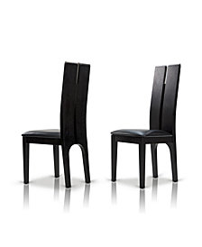 Modrest Max Dining Chair Set of 2