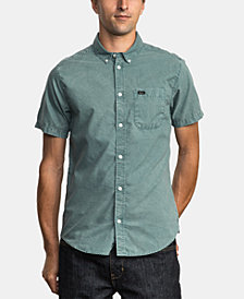 RVCA Men's Washed Shirt