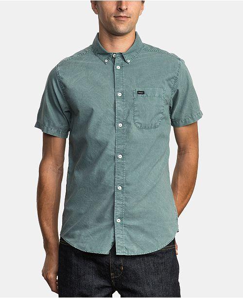 RVCA Men's Washed Shirt