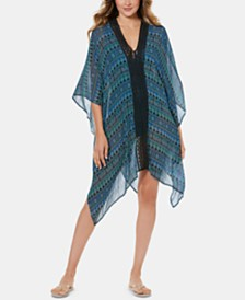 Miraclesuit Gypsy Printed Caftan Cover-Up