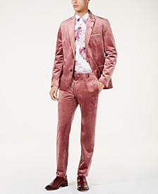I.N.C. Slim-Fit Velvet Suit Separates, Created for Macy's