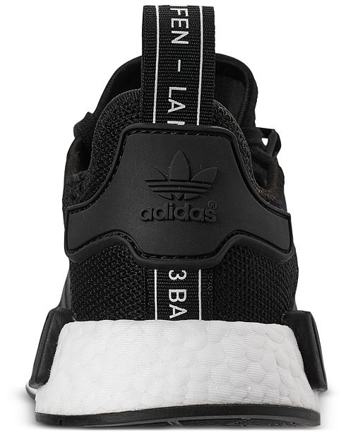 4ec8067eb adidas Boys  NMD R1 Casual Sneakers from Finish Line   Reviews ...