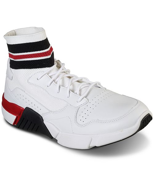 Mark Nason Los Angeles Block - Varsity  High Top Casual Sneakers from Finish Line