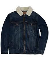 d11f981d514d9 Levi s® Big Boys Zip-Front Trucker Jacket with Fleece Collar