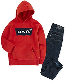 Levi's® Big 511™ Slim Fit Jeans & Otto Batwing Graphic Hoodie