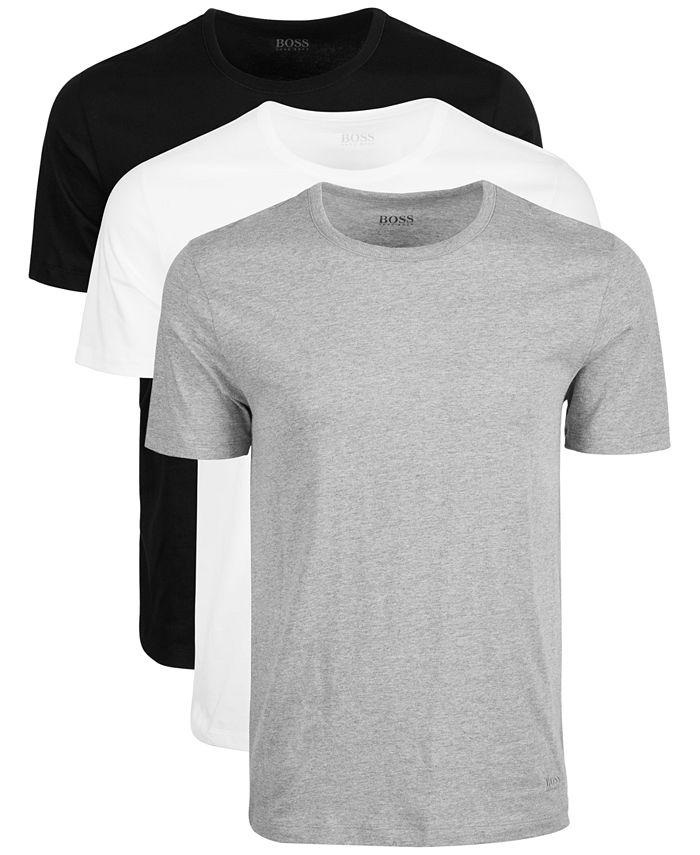 BOSS - Men's 3-Pk. Cotton T-Shirts
